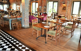 tlc flooring recent works the brasserie flooring