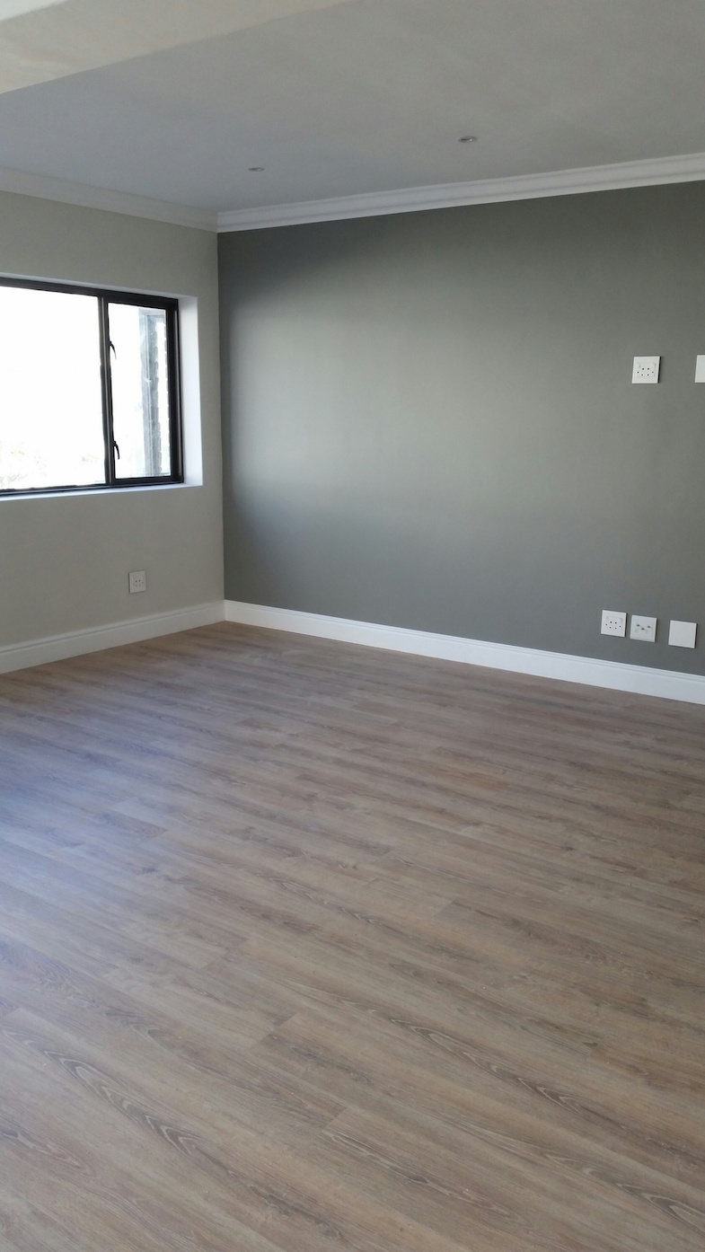 White washed wood vinyl flooring dream home st james for Kitchen installers cape town