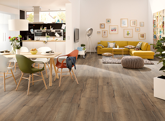 Laminate Flooring Egger Valley Oak Mocca Promo