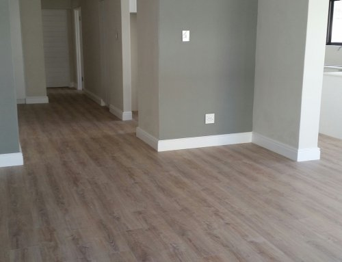 Stunning Laminate Whitewash Oak Flooring Installation in Sea Point Cape Town