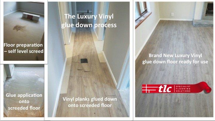 Luxury Vinyl Flooring - The Replacement Process